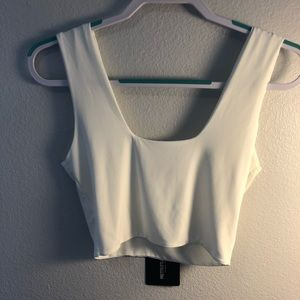 White crop top!